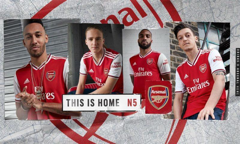 Replica camiseta de futbol Arsenal barata 2019 2020 Primera