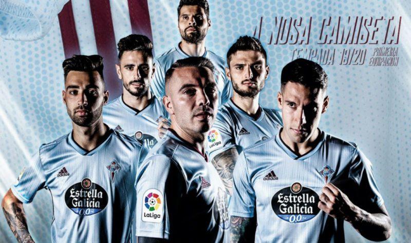 Replica camiseta de futbol Celta de Vigo barata 2019 2020