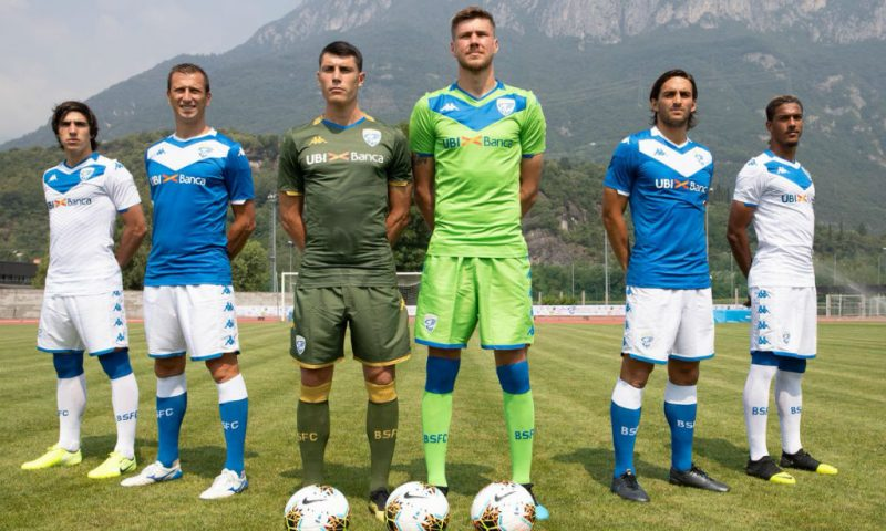 Replica camiseta de futbol Brescia barata 2019 2020