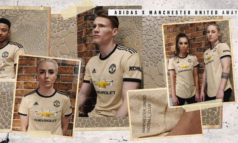 Replica camiseta de futbol Manchester United barata 2019 2020 Segunda