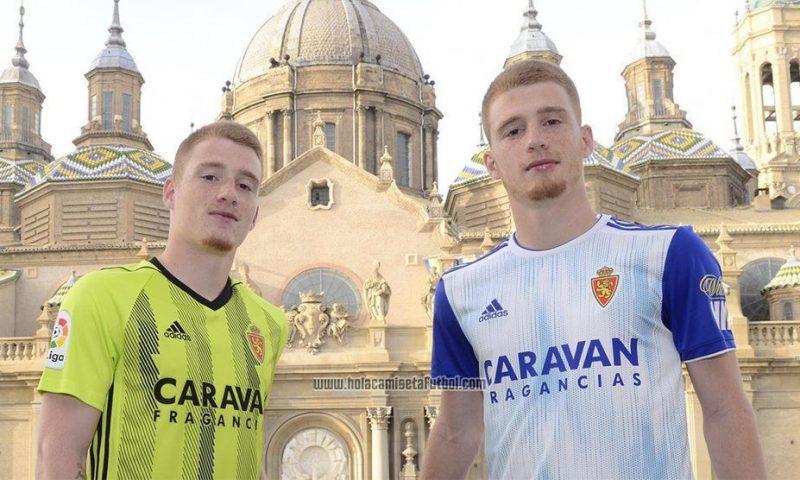 Replica camiseta de futbol Real Zaragoza barata 2019 2020
