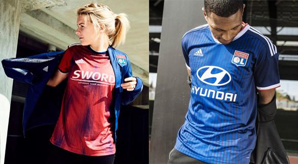 Replica camiseta de futbol Lyon barata 2019 2020
