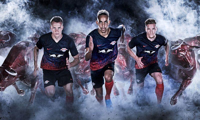 Replica camiseta de futbol RB Leipzig barata 2019 2020 Tercera