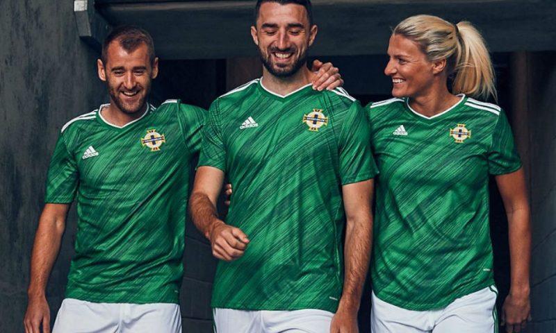 Replica camiseta de futbol Irlanda del Norte barata 2020