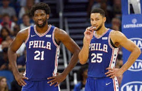 Camiseta Philadelphia 76ers Baratas