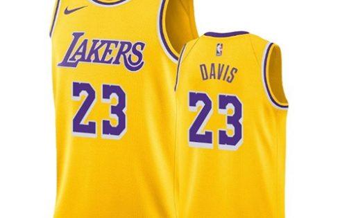 Camiseta Los Angeles Lakers Anthony Davis NO 23 Icon 2019 2020