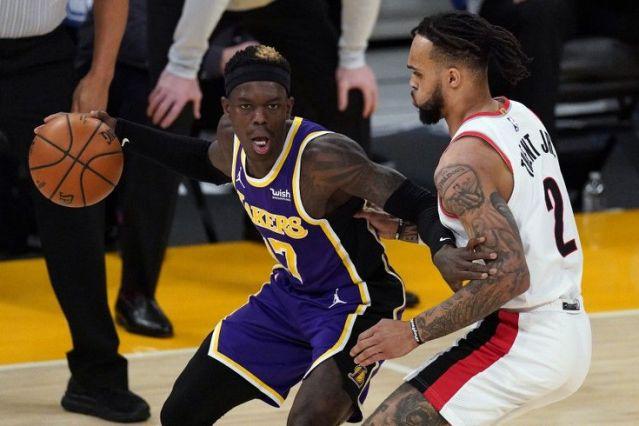 Vuelve Schroder y los Lakers rompen su mala racha